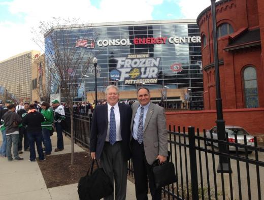 The Frozen Four in Pittsburgh? You betcha!