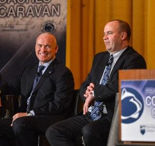 Penn State Football: At Halftime, Who's Winning the Coaches Caravan?