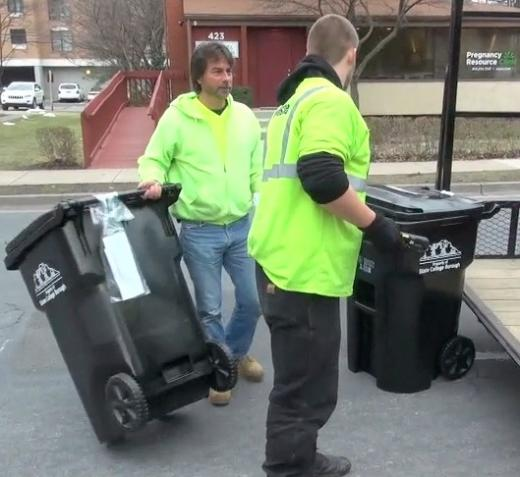Last Garbage Cart Exchange Day in State College, Compost Program Underway