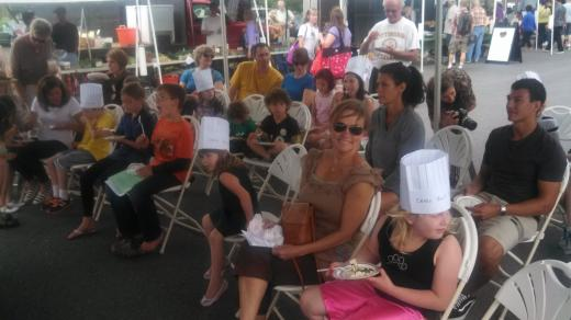 Kids Learn to Cook at the Boalsburg Farmers Market