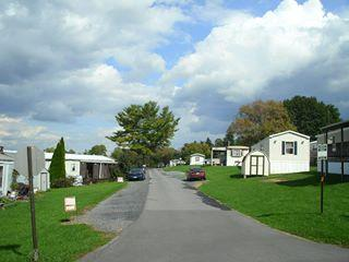 The Former Hilltop Mobile Home Park