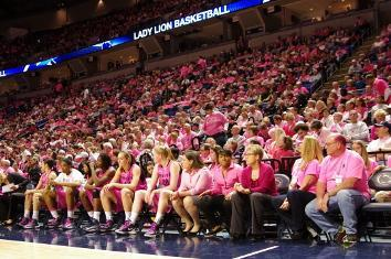 Lady Lions Donate $260,000 to Multiple Breast Cancer Charities