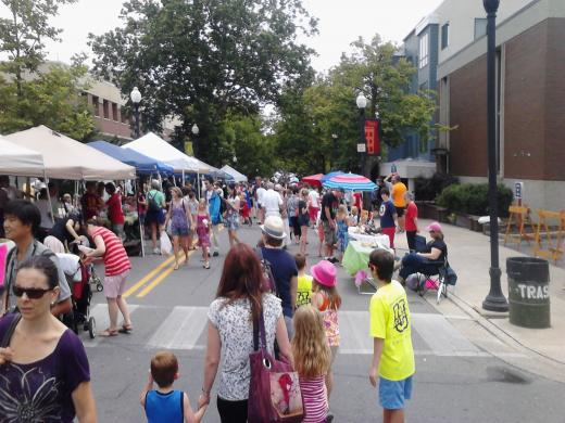 Young Artists Showcase Talents at Opening Day of the Arts Fest