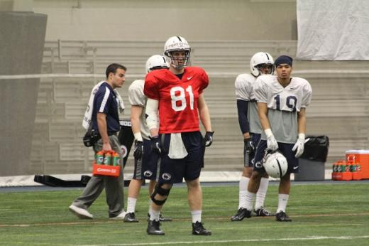 Penn State Football: Tight End Talent Overflowing in 2013