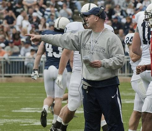 Even This Week, at Penn State Bill O'Brien's Focus is Still on Football