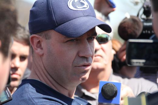 Penn State Football: O'Brien Sounds Off Midway Through Training Camp