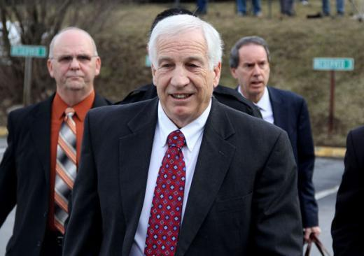 Person Identified as 'Victim 1' Reaches Settlement With Penn State in Sandusky Abuse Case