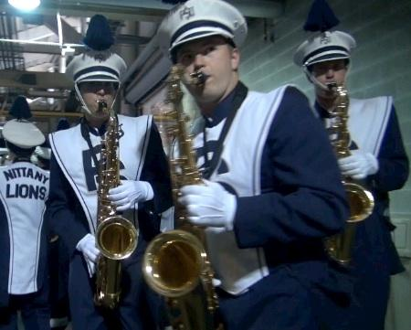 Blue Band Pre-Game Warm-Up Session