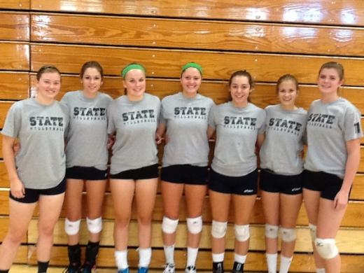 State High Volleyball Squad Looks to Build on Success of 2012