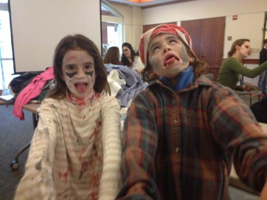 Zombies Sighted in State College: On a Mission to Help Food Bank