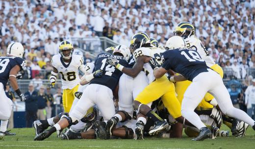 Penn State Football: It's A Game Of Inches And A Game Of Seconds