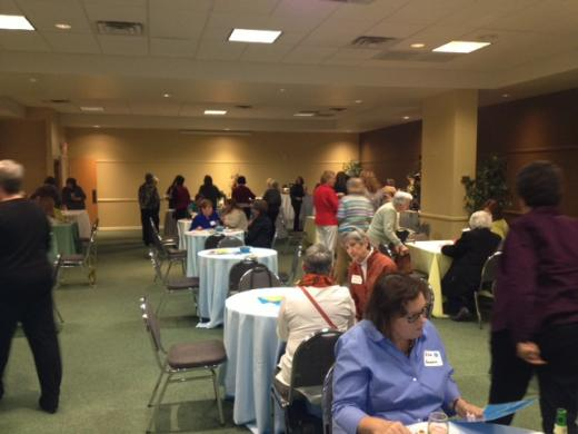 Women Roll the Dice to Raise Money for Literacy