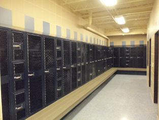 State College PA Penns Valley High School unveils new locker rooms