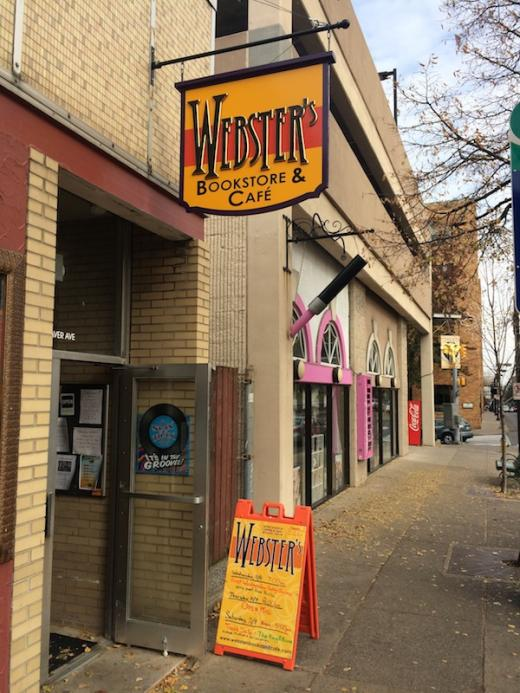 Rediscovering Happy Valley: Webster's Bookstore & Café