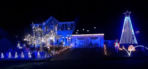 Distraction of the Day: Penn State Christmas Light Show