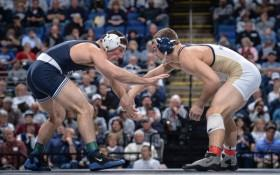 Top-Ranked Penn State Wrestlers Down No. 3 Iowa