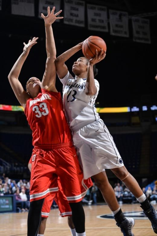 Lady Lions Score Solid Win Over Ohio State, 66-42