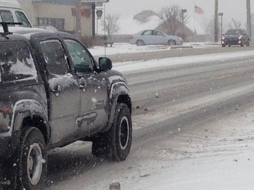 Slick Conditions Reported Across the Region, Speeds Reduced on Some Highways