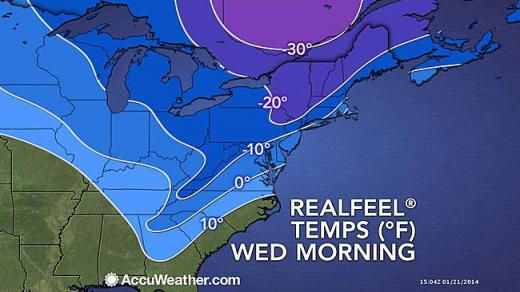 Extended Arctic Freeze Begins, Schools Opening Late