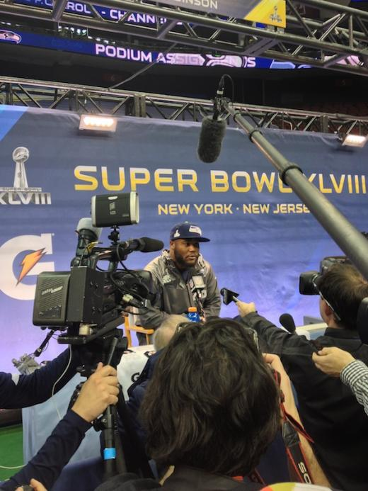 For Michael Robinson Super Bowl Means Answering Big Questions