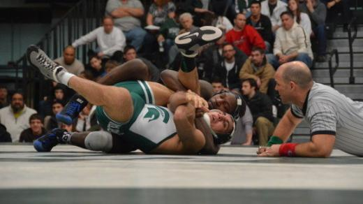 Penn State Wrestlers Defeat Michigan State 42-3 With Four Pins