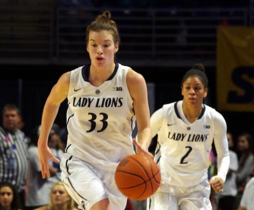 Lady Lions Overcome Foul Trouble to Defeat Northwestern, 79-75