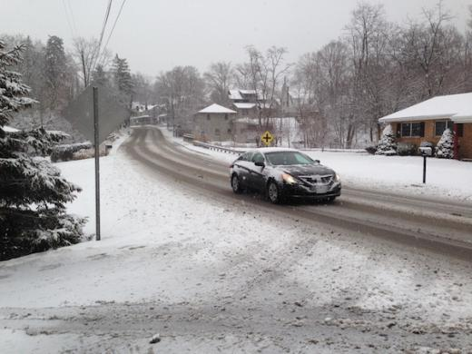 Snow Causing Trouble Monday, More Snow, Ice and Sleet Coming Later