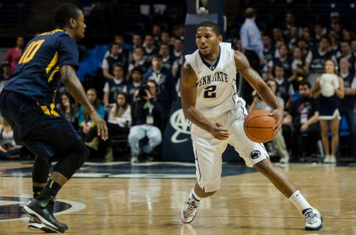 Penn State Basketball: DJ Newbill Named Co-Big Ten Player of The Week
