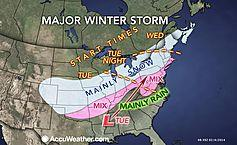 Winter Storm Warning Posted, Snow and Sleet in Forecast