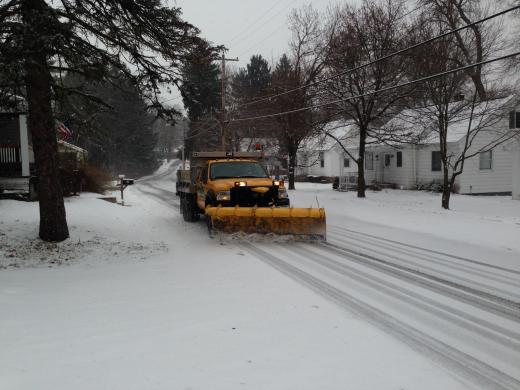 Winter Storm Plows Into State College Area