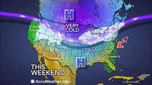 Light Snow in State College Weekend Forecast