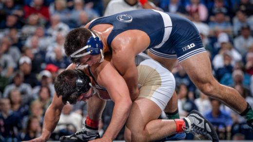 Penn State Wrestlers Lose First Match of the Season to No. 3 Minnesota