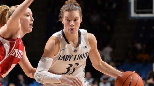 Lady Lions Battle Back to Beat Hoosiers 71-63