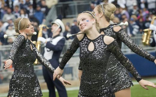 Penn State's 'Touch of Blue' majorettes Head South for National Competion