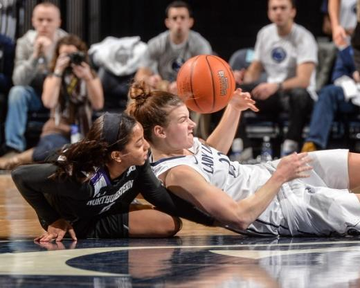 Big Ten Title Within Sight as Maggie Lucas Leads Penn State to Win Over Northwestern, 82-73