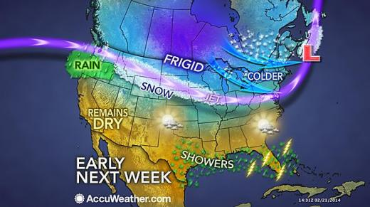 Mild Weekend for State College Before More Snow, Frigid Temperatures