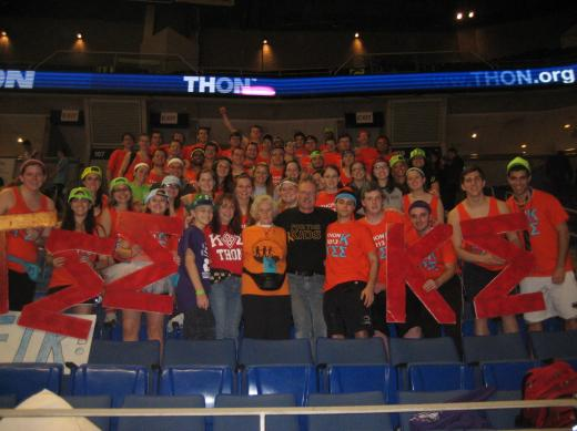 Thon Family Praises The Dedication Of Penn State Students and Volunteers