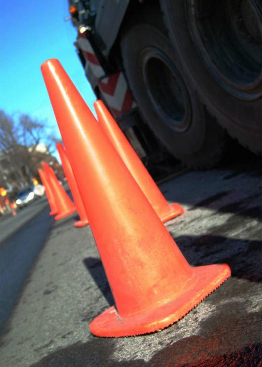 Construction Work Will Mean Lane Restrictions For Drivers Heading East on Route 322