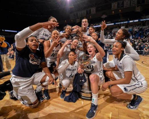 Lady Lions Cruise to Victory Over Michigan, Capture at Least a Share of Big Ten Title