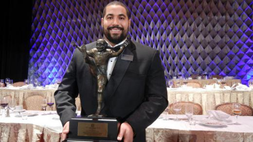 Penn State Football: Urschel Up For Sullivan Award Honors