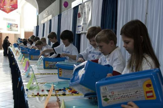 Children's Building Contest Always Popular at Home & Garden Show