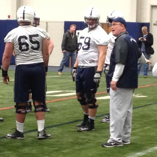 Penn State Football: For Anthony Alosi, Hope (and New Coaches) Spring Eternal
