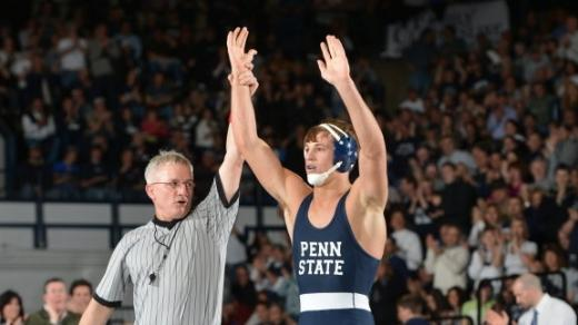 Penn State Wrestling: Nittany Lions Take Team Score Lead Into Friday