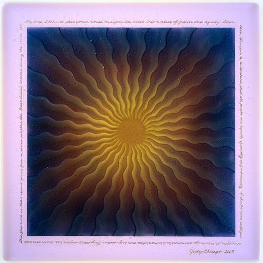 Judy Chicago Exhibit Held at HUB-Robeson Galleries