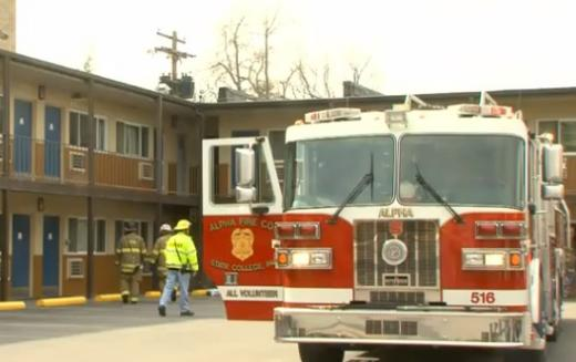 Fire Crews Respond to Small Blaze at State College Motel
