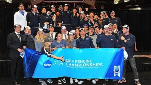Fencing Team Wins 13th National Title