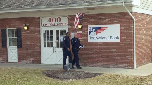 State College Police Respond to Possible Bank Robbery