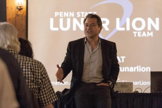 X Prize Founder Peter Diamandis on Lunar Lion, Penn State's Lunar X Prize Team