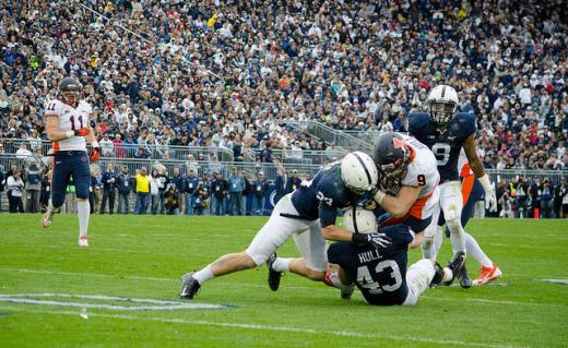 Penn State Football: Hull Breaks The Walls Down With 2014 Season In Sight
