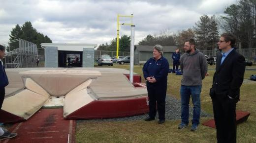 Kevin Dare Foundation Donates Safer Equipment for State High Pole Vault Pit